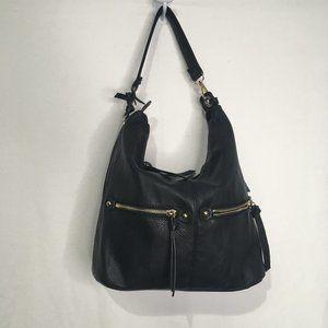 Jeane & Jax Black Shoulder Bag